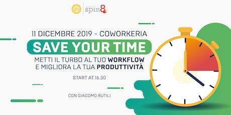 Metti il turbo al tuo Workflow e migliora la tua Produttività biglietti