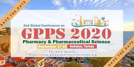 2nd Global Conference on Pharmacy and Pharmaceutical Science tickets