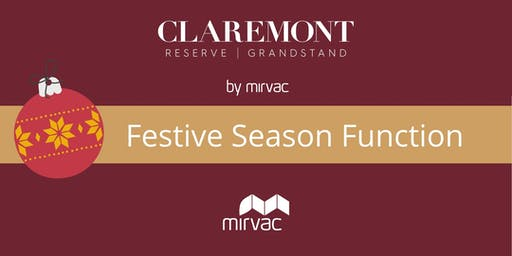 Reserve and Grandstand Residents Christmas Sundowner