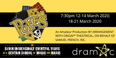 DRAMAC Presents: Puffs tickets