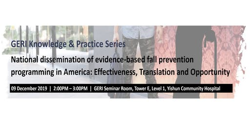 National dissemination of evidence-based fall prevention program in the US