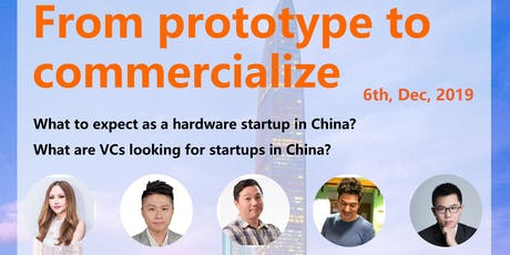 From prototype to commercialize 智能硬件创客如何将产品商业化 tickets