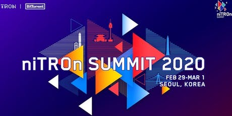niTROn SUMMIT 2020 in Seoul, Korea tickets