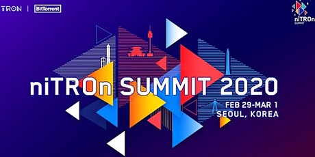 niTROn SUMMIT 2020 in Seoul, Korea tickets