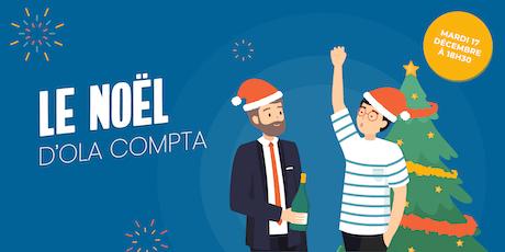 Soirée privée - OLA Compta fête Noël - sur invitation UNIQUEMENT billets