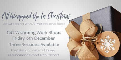 Gift Wrapping Workshop tickets