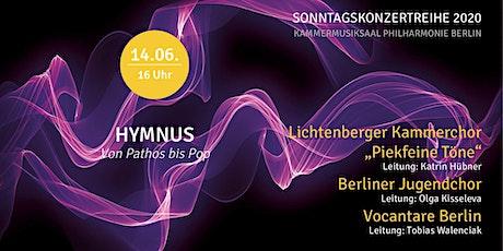 Sonntagskonzert Nr. 6   Hymnus Tickets