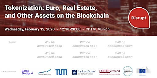 Tokenization: Euro, Real Estate, and Other Assets on the Blockchain