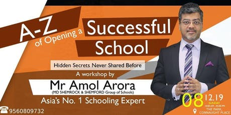 A-Z of Opening a Successful School? tickets