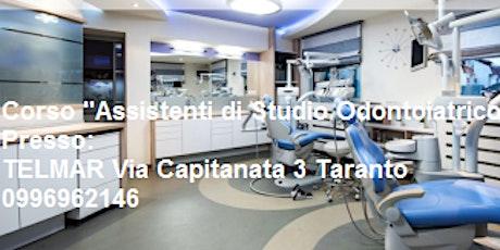 """Corso ASO """" Assistente di Studio Odontoiatrico"""" biglietti"""