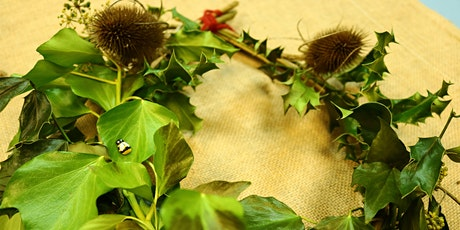 Traditional Wreath & Garland Workshop / Gweithdy Torch & Garlant tickets