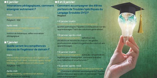 Conférence : Des outils pour une université puissance dys !