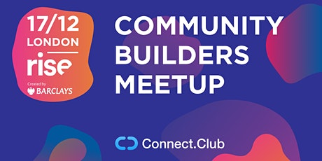 Сommunity builders: who are they? tickets