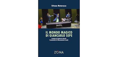 Presentazione del libro: di Silvana Matarazzo biglietti