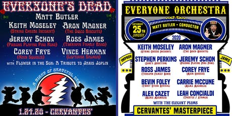 2-DAY PASS: Everyone's Dead (FRIDAY) & Everyone Orchestra (SATURDAY) tickets