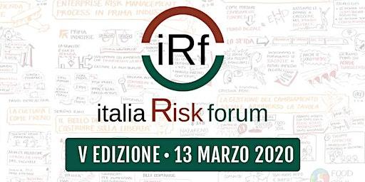 Italia Risk Forum - V Edizione