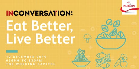 In Conversation: Eat Better, Live Better tickets