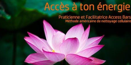 Classe certifiante Access Bars SAM 14 DEC 19 10h-18h Puteaux billets