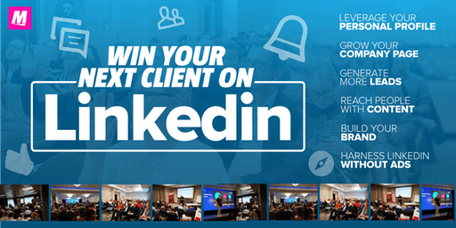 Win your next client on LinkedIn BIRMINGHAM Grow your business on LinkedIn