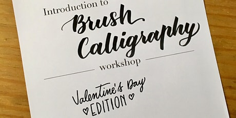 Intro to Brush Calligraphy - Valentine's Day Edition tickets