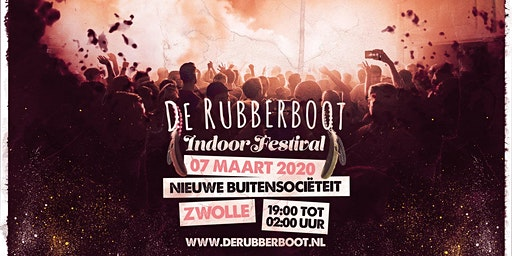 De Rubberboot Indoor Festival 2020