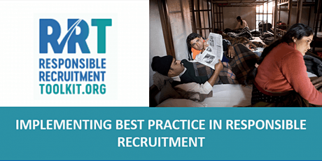 Implementing Best Practice in Responsible Recruitment | Ely | 4 - 5/02/2020 tickets