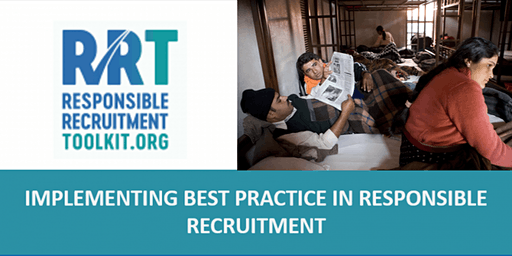 Implementing Best Practice in Responsible Recruitment | Ely | 4 - 5/02/2020
