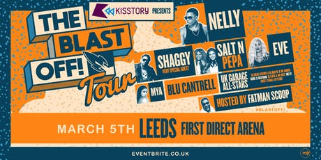 KISSTORY Presents The Blast Off! Tour (First Direct Arena, Leeds) tickets