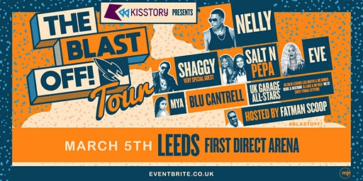 KISSTORY Presents The Blast Off! Tour (First Direct Arena, Leeds)