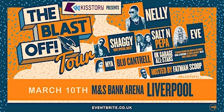 KISSTORY Presents The Blast Off! Tour (M&S Bank Arena, Liverpool) tickets