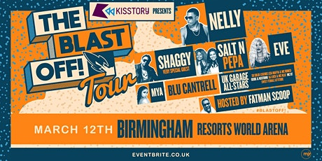 KISSTORY Presents The Blast Off! Tour (Resorts World Arena, Birmingham) tickets