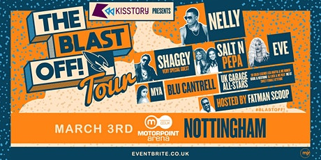KISSTORY Presents The Blast Off! Tour (Motorpoint Arena, Nottingham) tickets
