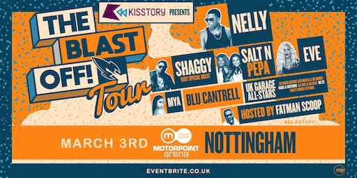 KISSTORY Presents The Blast Off! Tour (Motorpoint Arena, Nottingham)