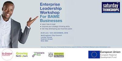 Enterprise Strategic Leadership Thinkshop