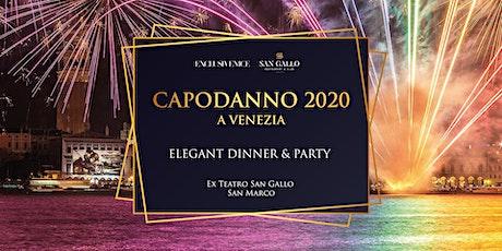Capodanno 2020 a Venezia • Elegant Dinner & Party biglietti
