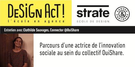 MasterClass de Clothilde Sauvages, Connector @OuiShare billets