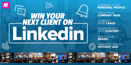 Win your next client on LinkedIn  MANCHESTER Grow your business on LinkedIn tickets