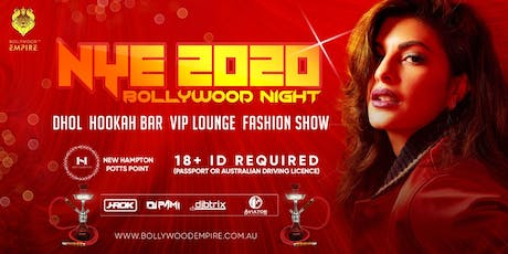 Bollywood Night SYDNEY! NYE 2020 |Fashion | DJ | VIP tickets
