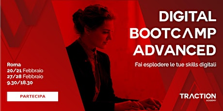 Digital Bootcamp ADVANCED biglietti