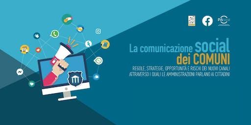 La comunicazione social dei comuni