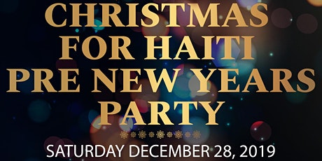 Christmas for Haiti / Pre New Years Party tickets