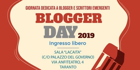 Blogger Day 2019 tickets