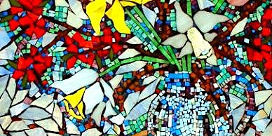Beginners Stained Glass Mosaic with Jemma