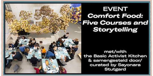 Comfort Food: Five Courses and Storytelling
