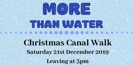Christmas Canal Walk tickets