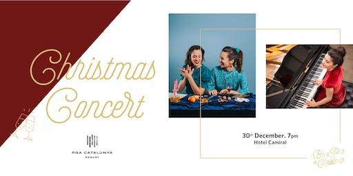 Christmas Concert with Meritxell & Judit Neddermann & Miriam Luna