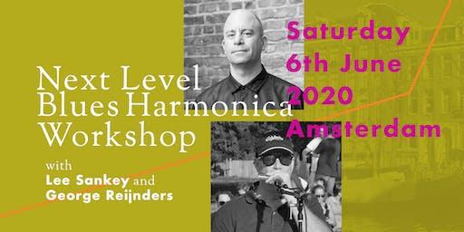 Next Level Blues Harmonica Workshop with Lee Sankey and George Reijnders