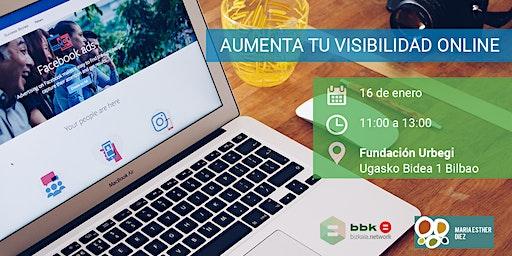 Aumenta tu visibilidad online
