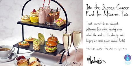 Afternoon Tea with the Sussex Cancer Fund tickets