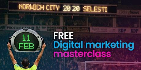 Digital Marketing Masterclass - Digital Strategy for 2020 tickets